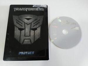 TRANSFORMERS-I-PROTECT-DESTROY-2007-DVD-STEELBOOK-HASBRO-CASTELLANO-ENGLISH