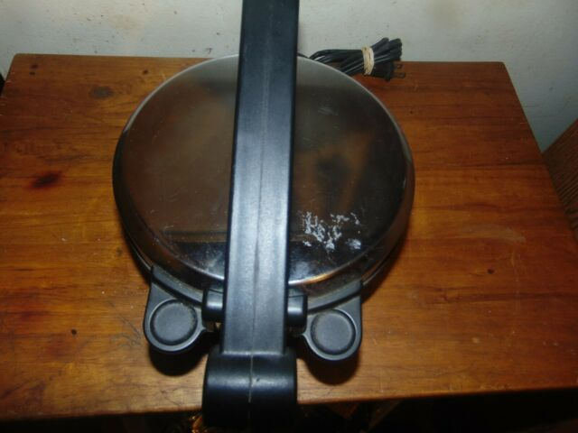Electric Roti Maker Non-Stick Chapati,Tortilla Papad Maker 8 inch