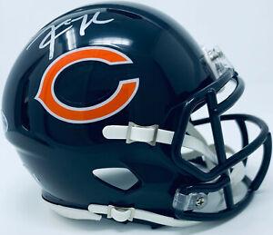 best website 46e2b bc5e5 Details about Chicago Bears Khalil Mack Signed Speed Mini Helmet Auto - BAS  Beckett Witnessed