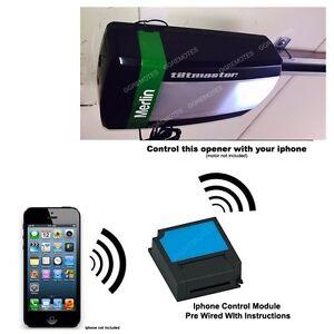 Iphone Remote Control Your Merlin MT100EVO Tiltmaster Garage Door