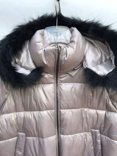 cappuccio rimovibile Large Piumino 248 sintetica trapuntato 3046 Ref pelliccia in Zara con qIwtxFB