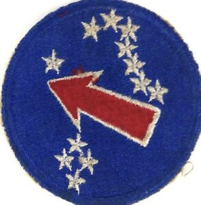 WWII-US-Army-Ground-Unit-Pacific-Ocean-Patch-Sleeve-Insignia-ORIGINAL-Vintage