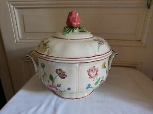 Choisy-Le-Roy-pour-Au-vase-etrusque-grand-legumier-decor-Veuve-Perrin