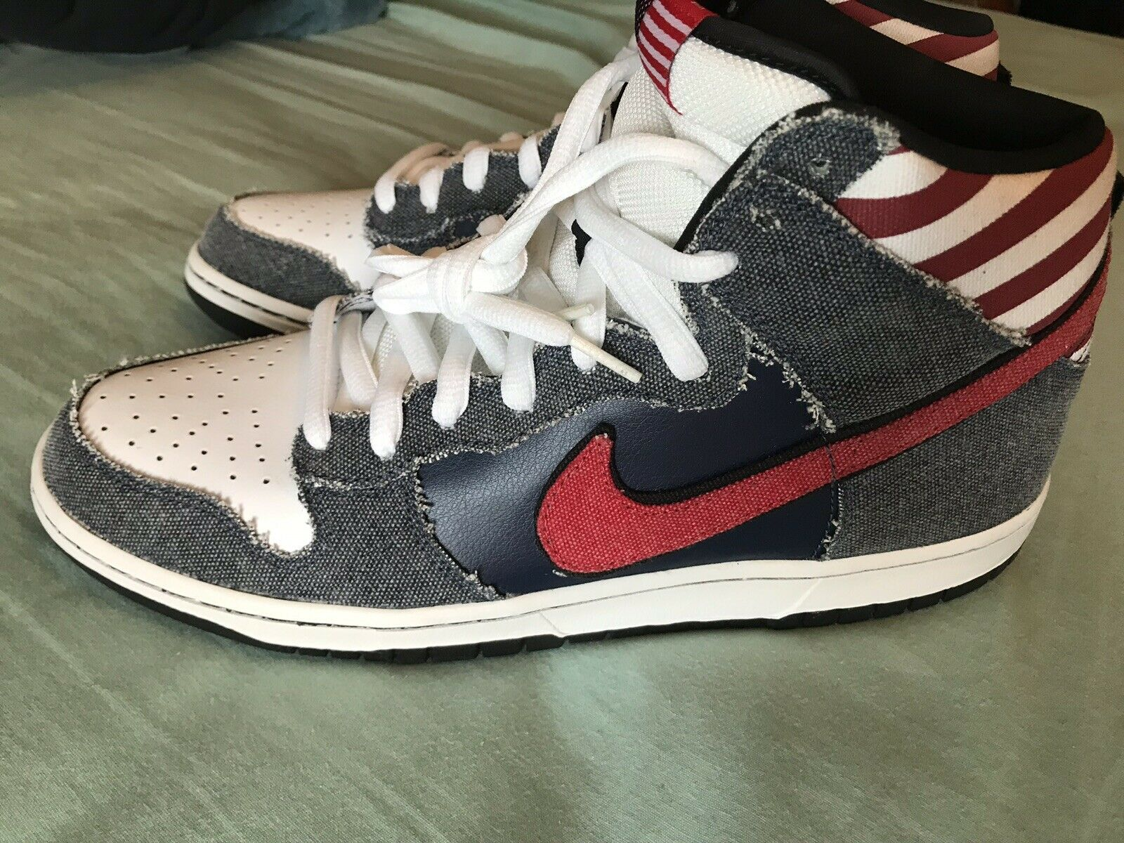 Nike SB Dunk High Born in the USA Size 12
