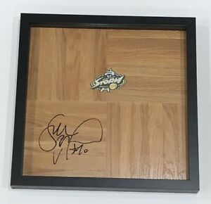 SUE-BIRD-SIGNED-FRAMED-12X12-FLOORBOARD-SEATTLE-STORM-AUTOGRAPHED-PROOF-WNBA