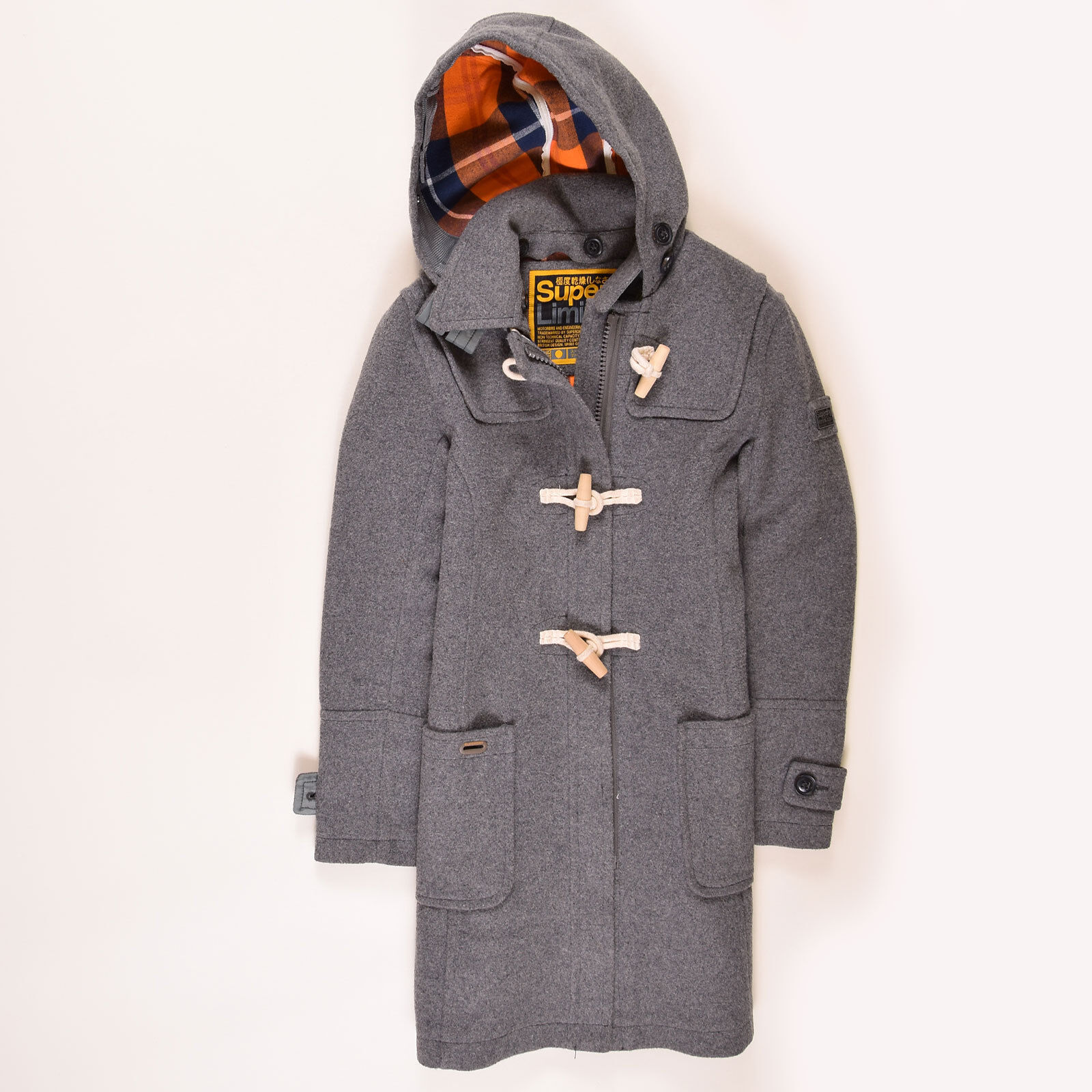 promo code 630b8 74687 Superdry Damen Jacke Coat Jacket Gr.M (DE 38) Limited Wolle ...