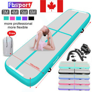 3-4-5-6M-Airtrack-Inflatable-Air-Track-Gymnastics-Floor-Tumbling-GYM-Mat-Pump