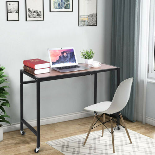 Computer Table Modern Desk Home Office Study Workstation Writing Furniture USA