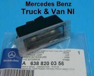 Mercedes-Vito-Number-Plate-Light-1997-2004-W638Genuine-Mercedes-Part-6388200356