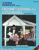 Crochet Clothing For Little People Cabbage Patch Xavier Roberts Vintage Book