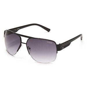 purple aviator sunglasses  Guess GUF 126 GUN-35A Men\u0026#039;s Aviator Sunglasses, Gunmetal ...