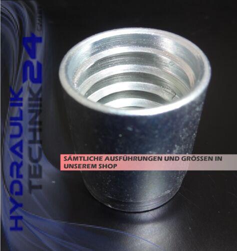Press-versión F 1+2sn 2sc DN 08 hidráulica manguera