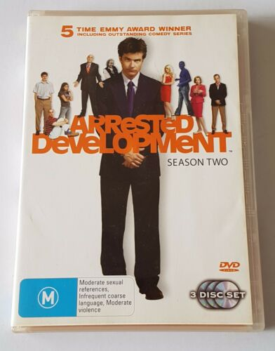 1 of 1 - Arrested Development : Season 2 DVD, 3-Disc Set (#DVD01625)