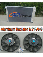 """Aluminum Radiator & 2*14""""FANS FOR 1973-1987 CHEVY C/K Truck /73-1981 K5 Blazer"""