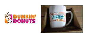DUNKIN DONUTS DESTINATIONS MUG CALIFORNIA STATE LIMITED EDITION