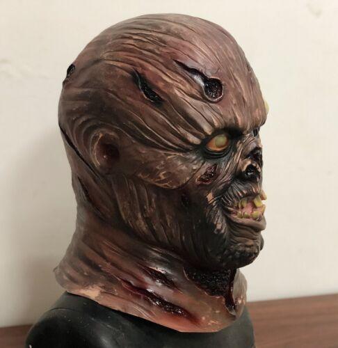Jason Unmasked Mask Halloween Zombie Horror Hockey Serial Killer Fancy Dress