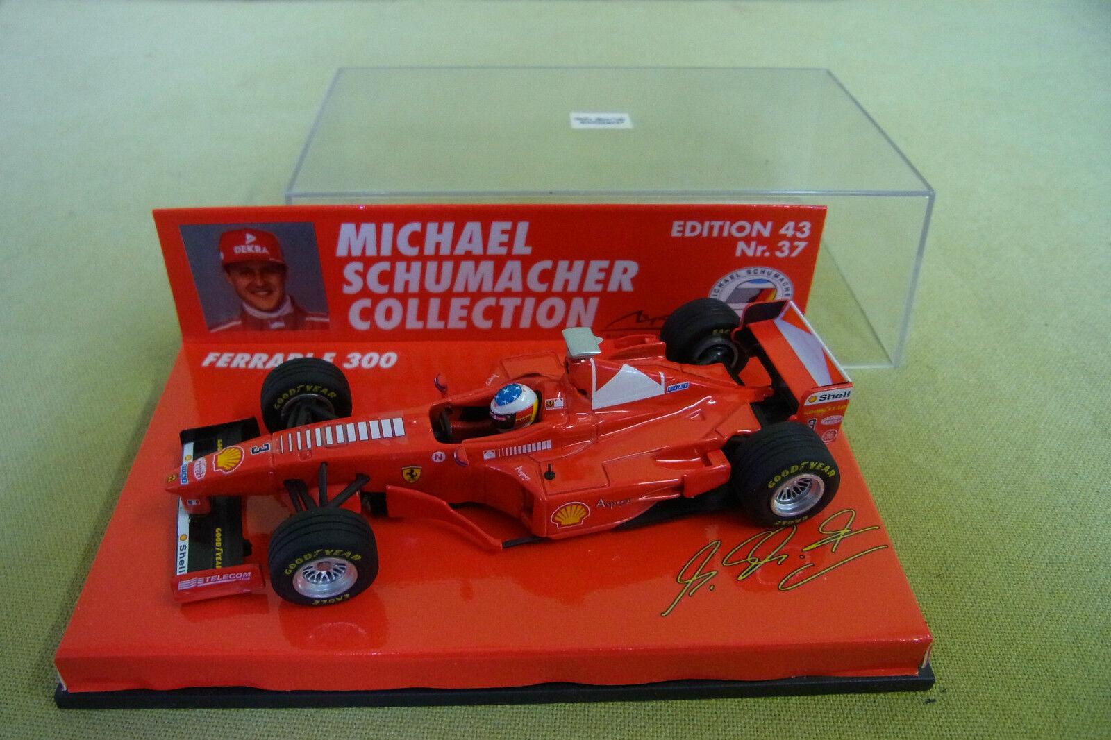 Minichamps - Ferrari F 300 - - - Michael Schumacher Collection - Edition 43 Nr. 37  | Exquisite Verarbeitung  910eed
