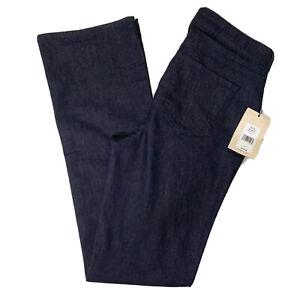 NWT-NYDJ-Barbara-Bootcut-Jeans-Dark-Wash-Size-4-Retail-119