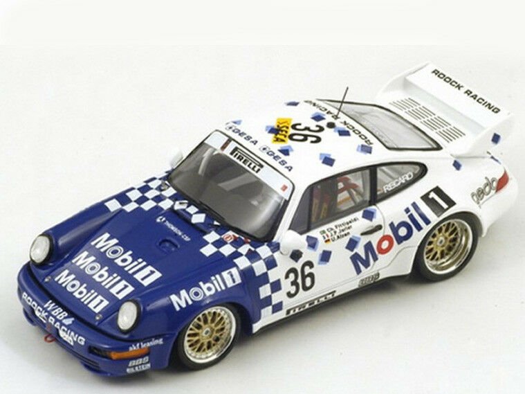 RARE Spark Model 1 43 SB008 Porsche 911 RSR  36 Winner 24H SPA 1993 NEW
