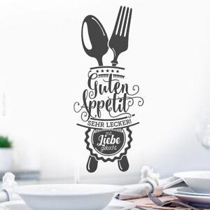 Details zu Guten Appetit Wandtattoo Küche Esszimmer Wand Sprüche  Wandsticker Tattoo w503c
