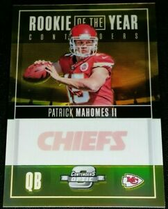 RC-10-PATRICK-MAHOMES-II-GOLD-PRIZM-SSP-ROOKIE-2017-Panini-Contenders-Optic-ROY