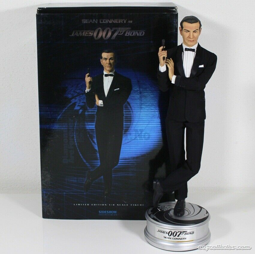 "SIDESHOW SEAN CONNERY ""DR NO"" JAMES BOND 1 4 (RARE) Premium Format Statue."