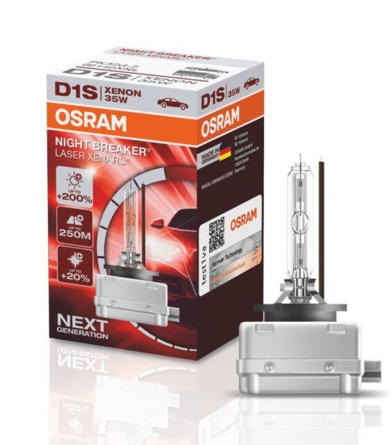 66140XNB-HCB 2 St/ück Duobox Entladungslampe Osram XENARC NIGHT BREAKER UNLIMITED D1S HID Xenon-Brenner
