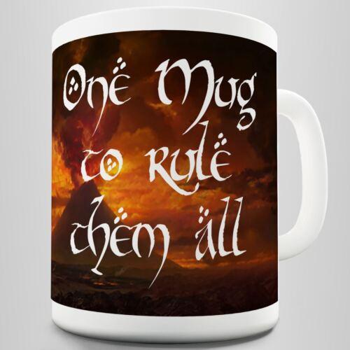 Lord of the rings Inspired Coffee Mug