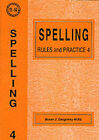 Spelling Rules and Practice: No. 4 by Susan J. Daughtrey (Paperback, 1995)