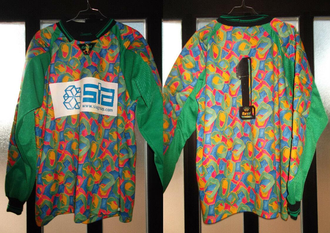 Maglia shirt originale avezzazo royal nr 1 taglia XL match worn