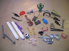 LOT PLAYMOBIL / SKIS, AMPHORE, VIOLON, ACCESSOIRES MAISON /TRES BON ETAT