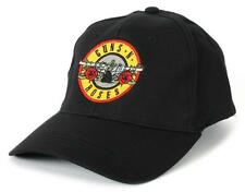 Official Guns N Roses - Bullet Logo - Black Flex Fit Baseball Cap