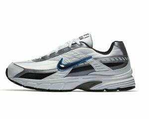 Nike-Initiator-Wide-Width-395662-101-Men-039-s-White-Obsidian-Grey-NEW-IN-BOX-SALE