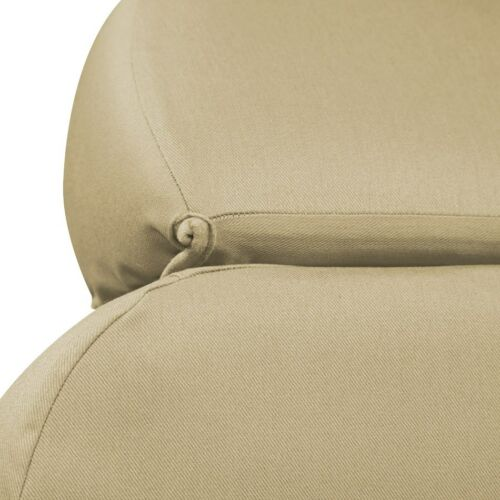 Coverking Custom Seat Covers Polycotton Drill Front Row 5 Color Options