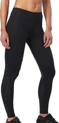 Gerade 2xu Mid-rise Compression Womens Long Tights - Black