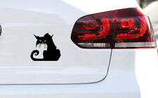 Angry Cat Auto Aufkleber Katze Kittn Sticker Fun JDM Decal Premium Folie