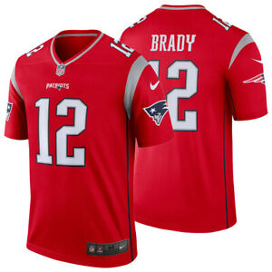new concept 14038 cf194 Details about NEW Nike 2019 Tom Brady New England Patriots Jersey Inverted  Legend Edition NWT