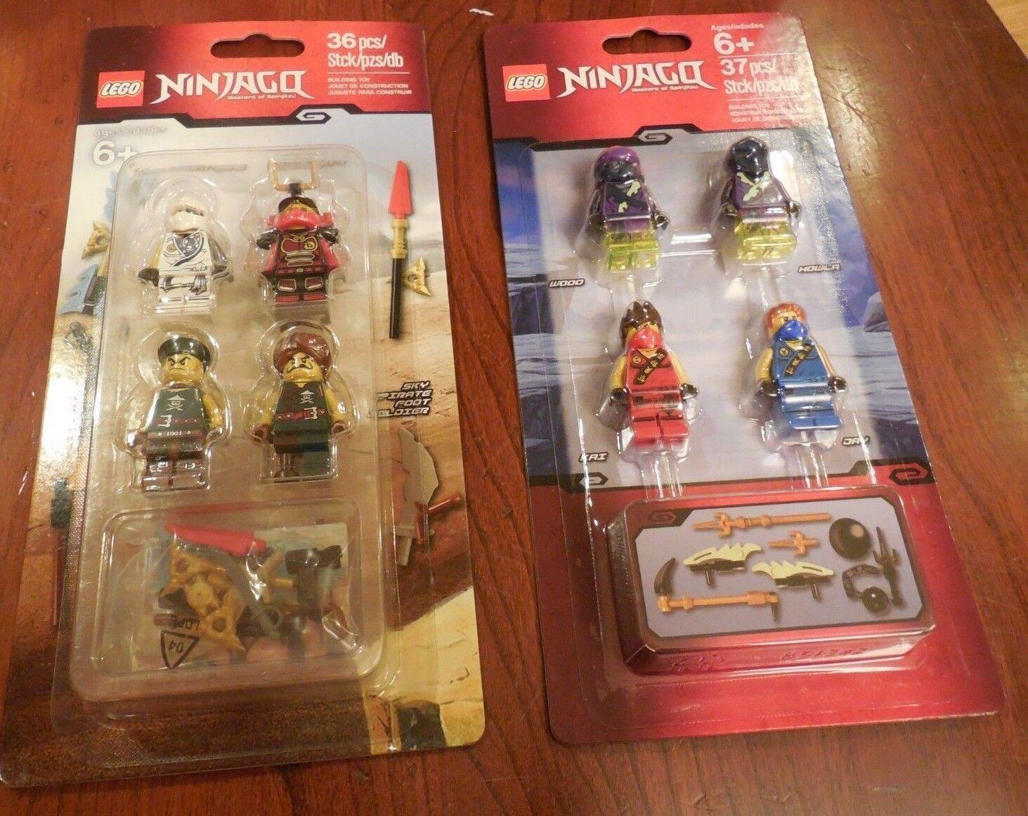 2-New LEGO Ninjago Minifigure Sets Masters of Spinjitzu 851342 & & & 853544 8 MINIS 64cc76