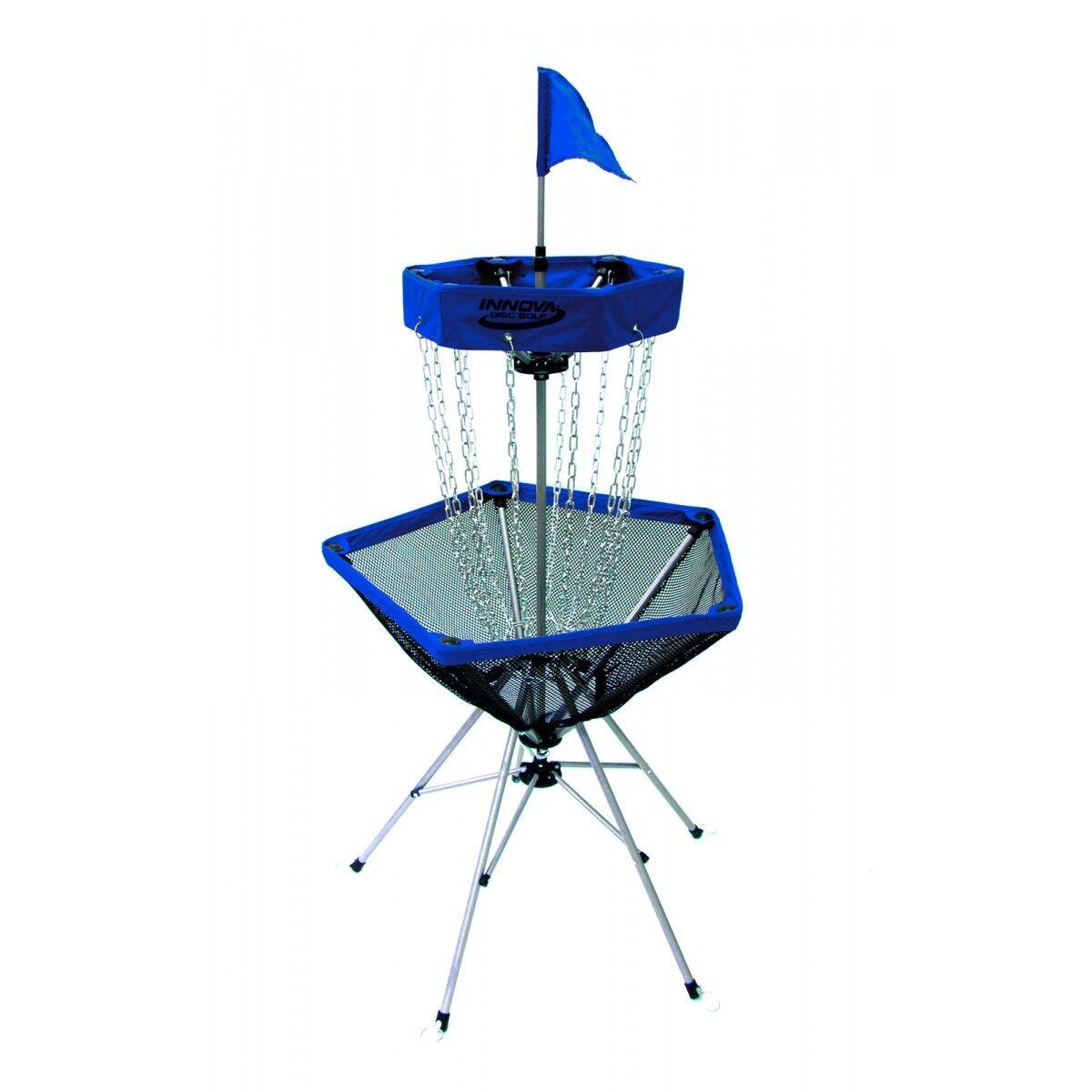 NEW - Innova DISCatcher Traveler Disc Golf Basket - NEW Blau 911b2f