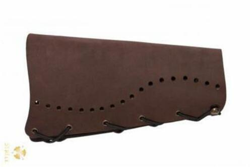 New Strele Archery Traditional Leather Arm Guard Armguard Bracer Brown longbow