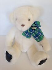 Gund Victoria's Secret Teddy Bear White Plush 1992 Stuffed Animal 15""