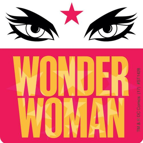 Birthday Loot Supergirls Party Wonder Woman Gift Wonder Woman Stickers x 5