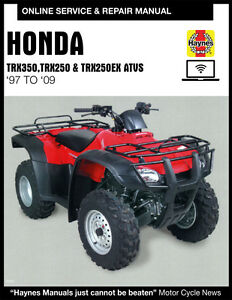 2002 honda rancher 350 haynes online repair manual - select access | ebay  ebay