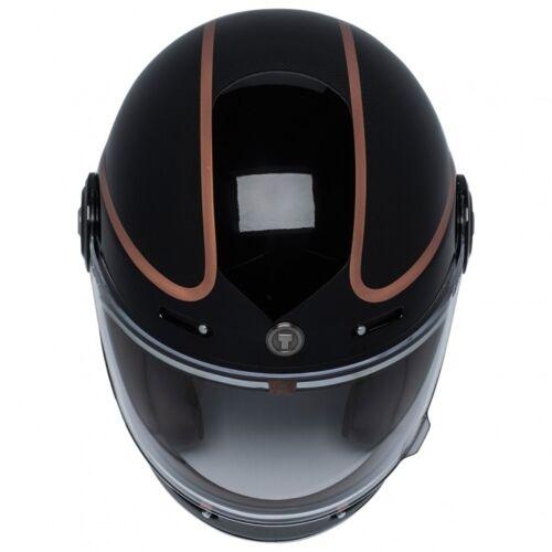 New TORC T1 Retro Full Face Motorcycle Fiberglass Vintage Helmet DOT ECE 22.05