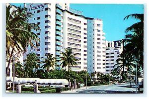 Image Is Loading Saxony Hotel Collins Avenue Miami Beach Florida Chrome