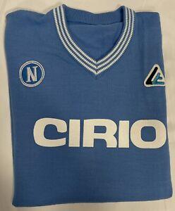 1 maglia azzurra NAPOLI CIRIO MARADONA 10 1984/85  Lanetta Vintage Calcio