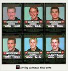 2001 Teamcoach Trading Cards Silver Regular Team set Collingwood (6)