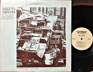 CHICAGO-BLUES-LP-GOIN-TO-CHICAGO-Testament-HUTTO-Sam-Lay-BILLY-BOY-Floyd-Jones