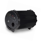 40w Bluetooth Sound Cannon Speaker Changing LED Lights Heavy Bass Black Akai