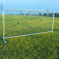 Portable Chain Link Fence Panels on sale